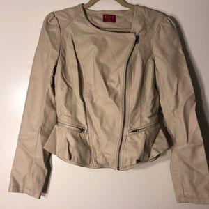 Elle Feminine Leather jacket